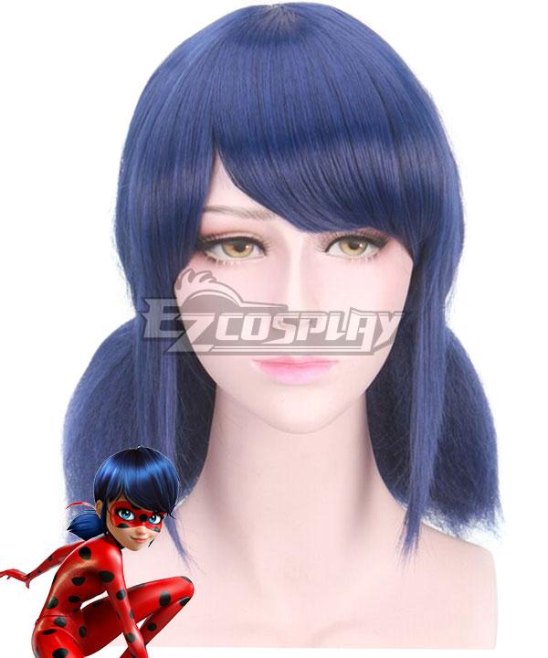 Miraculous Ladybug Marinette Blue Cosplay Wig