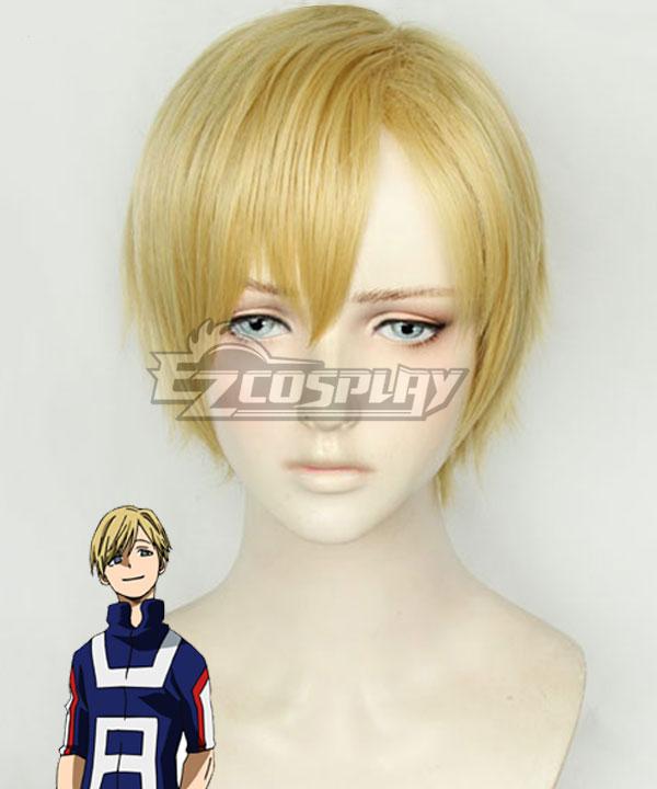 My Hero Academia Boku no Hero Akademia Neito Monoma Multicolor Golden Cosplay Wig