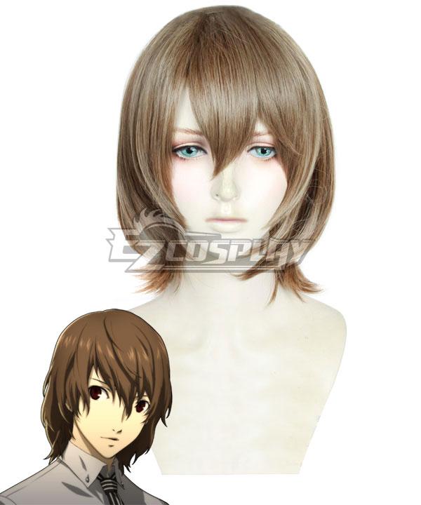 Persona 5 Goro Akechi Brown Cosplay Wig