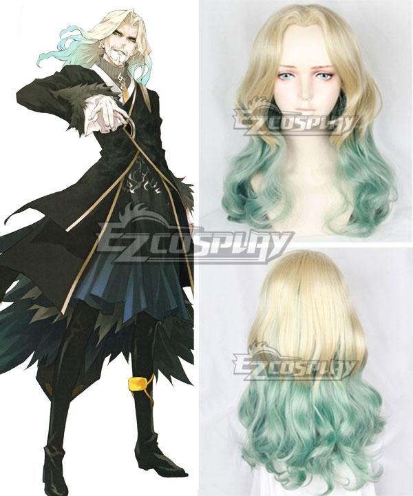 Fate Apocrypha Lancer of Black Vlad III Multicolor Cosplay Wig