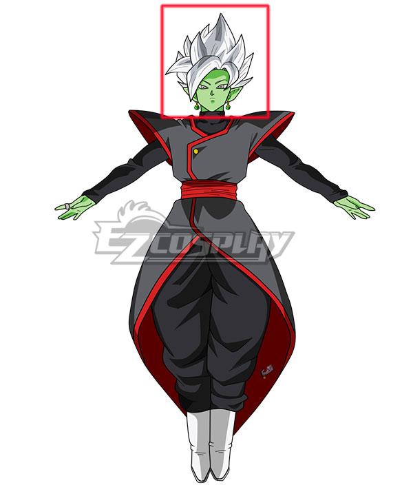 Dragon Ball Super Fusion Zamasu White Cosplay Wig
