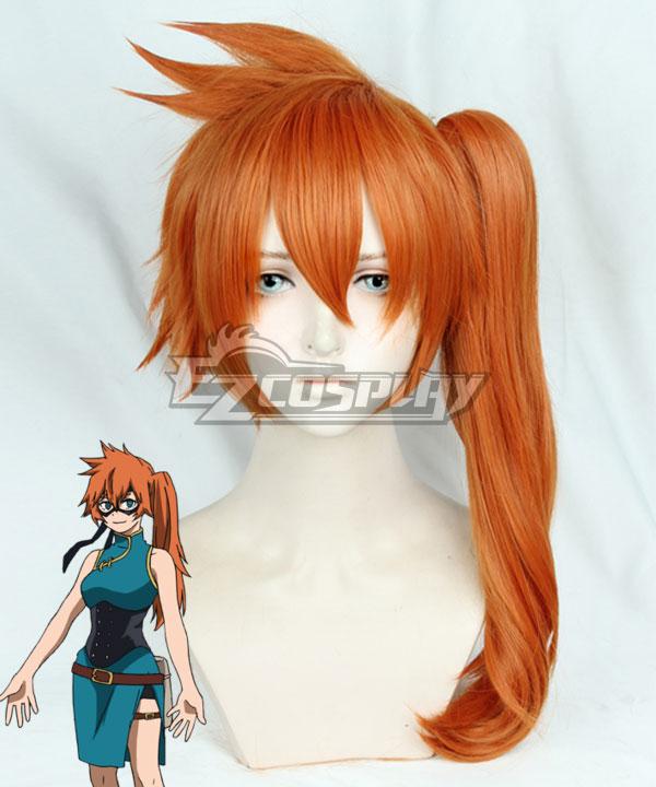 My Hero Academia Boku no Hero Akademia Itsuka Kendo Orange Cosplay Wig