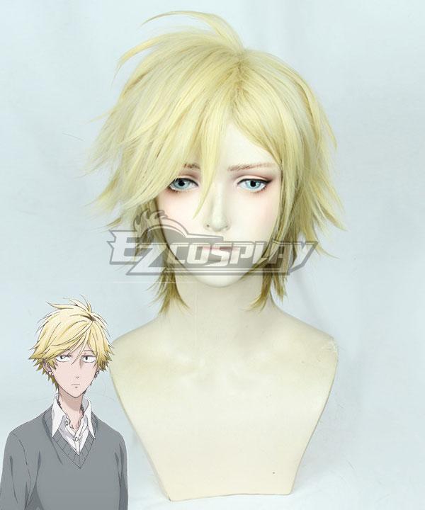 Hitorijime My Hero Setagawa Masahiro Light Golden Cosplay Wig