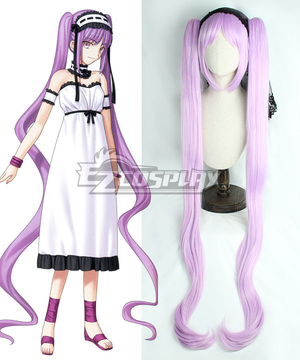 Fate Grand Order Archer Euryale Purple Cosplay Wig