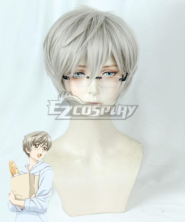Cardcaptor Sakura: Clear Card Yukito Tsukishiro Silver Grey Cosplay Wig - Only Wig