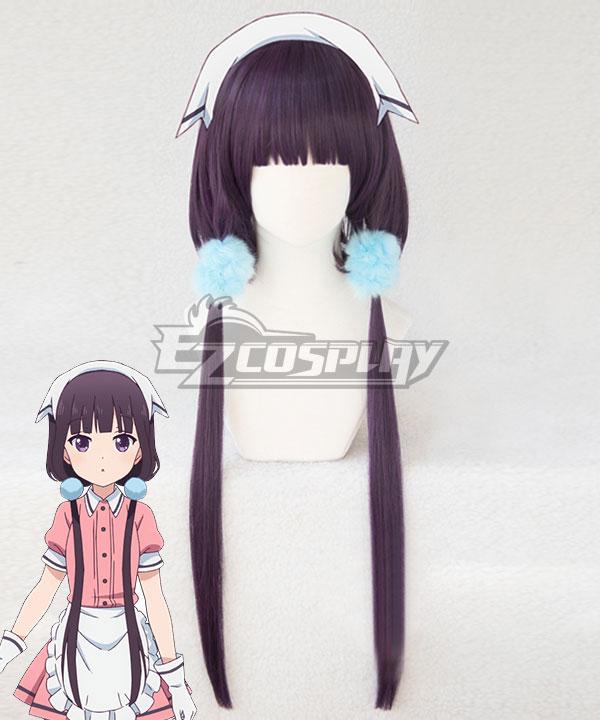 Blend·S Burendo Esu Maika Sakuranomiya New Purple Cosplay Wig - Only Wig