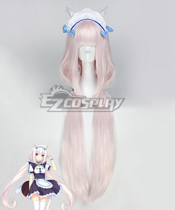 Nekopara Vanilla Light Pink Cosplay Wig