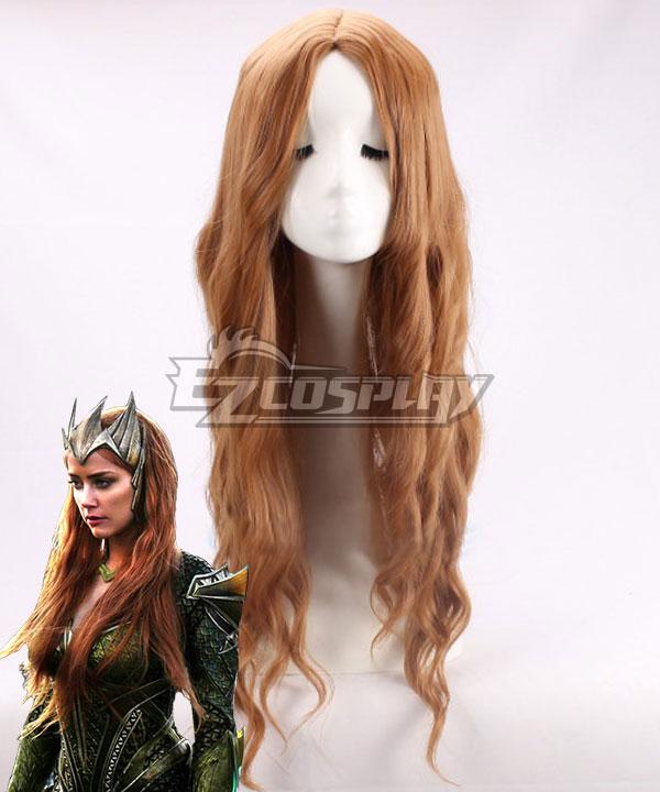 DC Justice League Movie Mera Orange Cosplay Wig