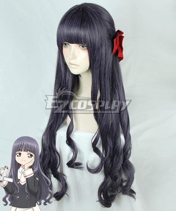 Cardcaptor Sakura: Clear Card Tomoyo Daidouji Deep Purple Cosplay Wig - Only Wig
