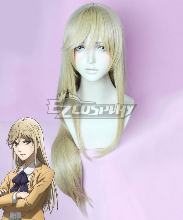 Hakata Tonkotsu Ramens Xianming Lin Light Yellow Cosplay Wig