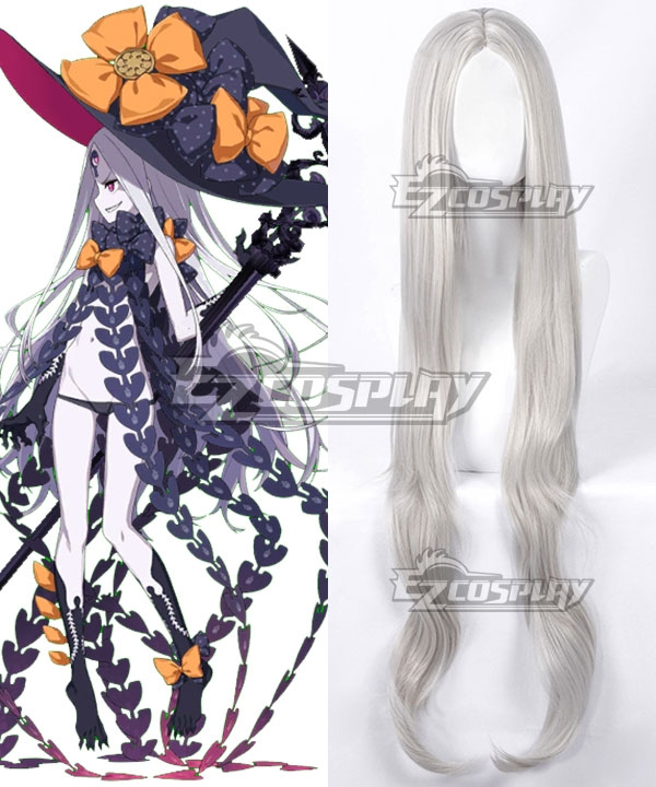 Fate Grand Order Abigail Williams Stage 3 Sliver White Cosplay Wig