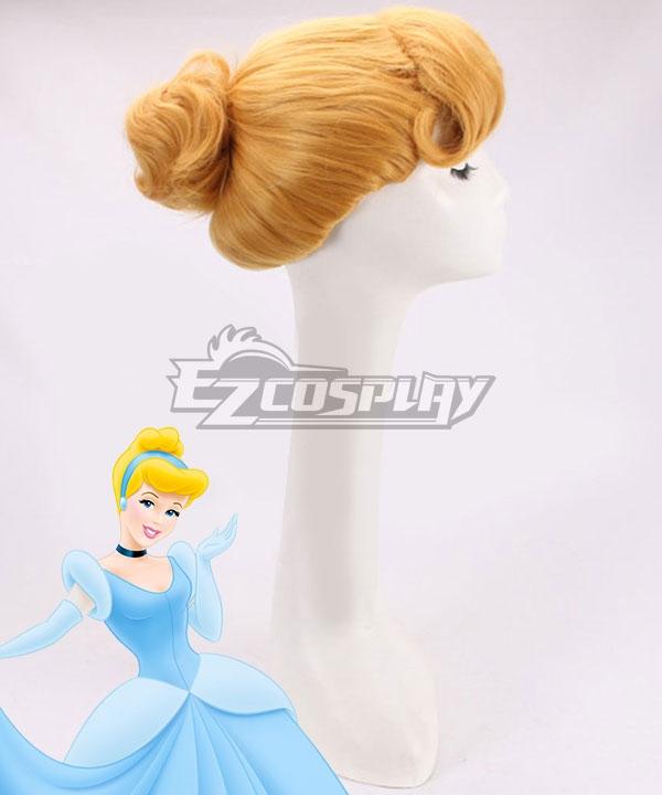 Disney Cinderella Princess Cinderella Yellow Cosplay Wig
