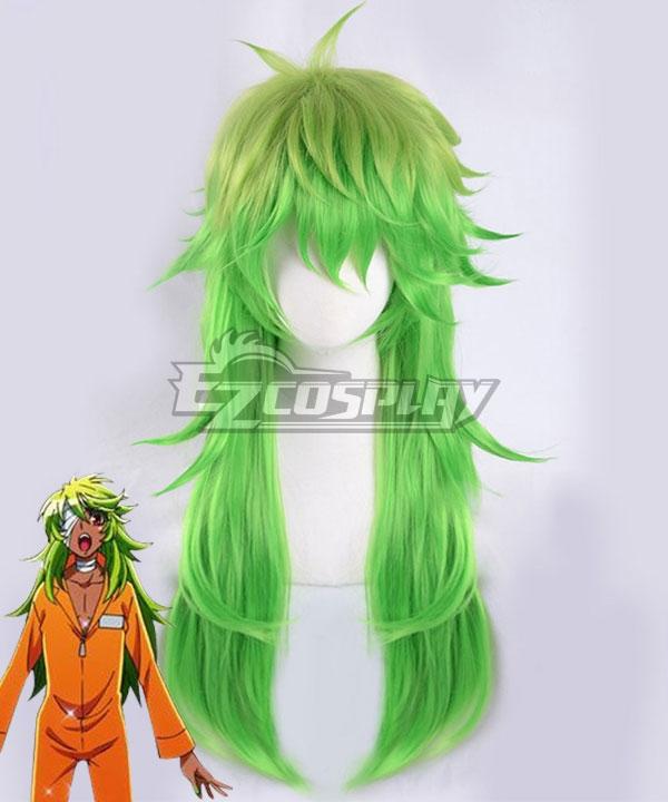Nanbaka Nico No.25 Green Cosplay Wig