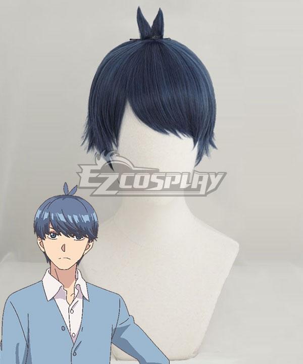 Bride   Dark   Blue   Wig   No