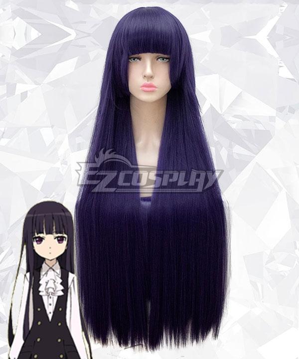 Inu x Boku SS Ririchiyo Shirakiin Purple Cosplay Wig