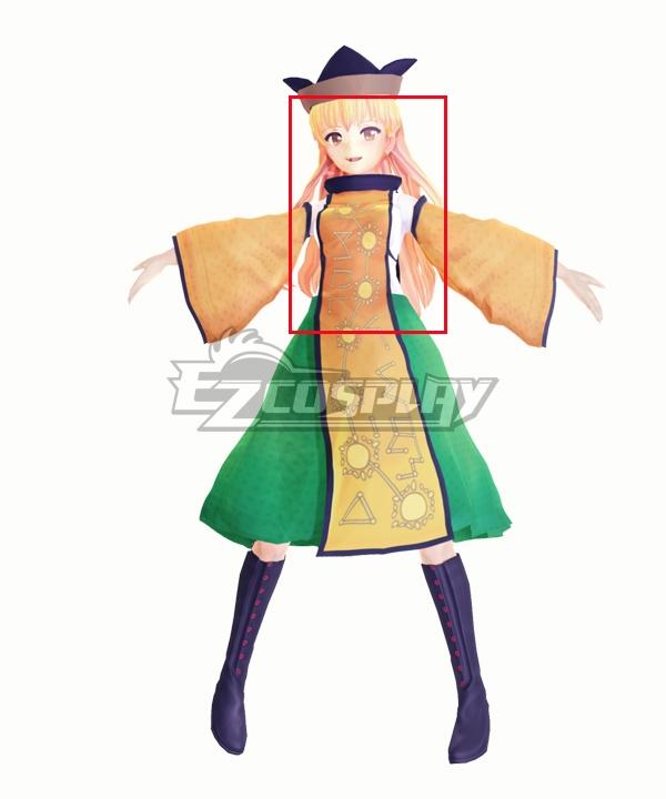 Touhou Project Okina Matara Golden Cosplay Wig