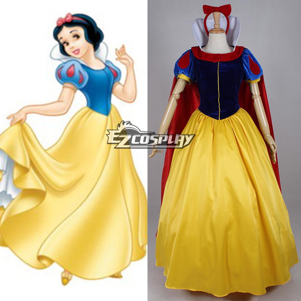 Princess | Costume | Disney | White | Snow