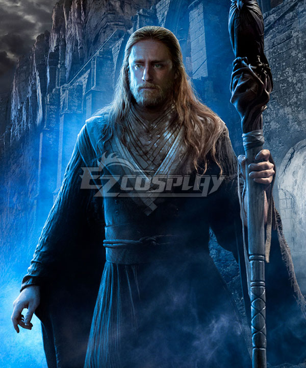 Warcraft The Beginning World of Warcraft WOW Medivh Movie Cosplay Costume