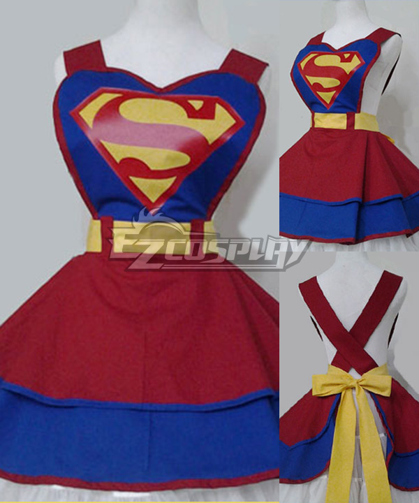 DC Comic Super Hero Fashion Customade Retro Household Apron Cosplay