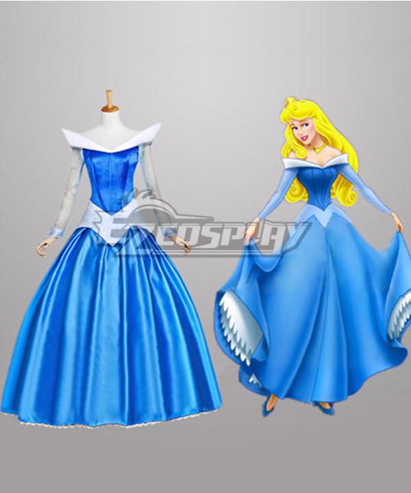 Princess   Costume   Disney   Sleep   Dress   Blue