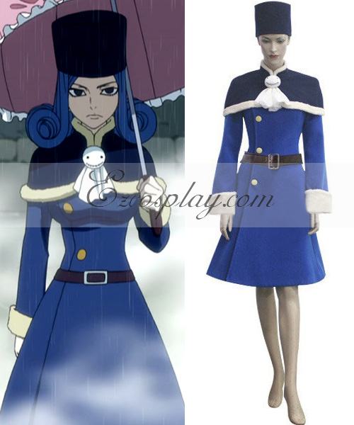 Fairy Tail Juvia Loxar Cosplay Costume