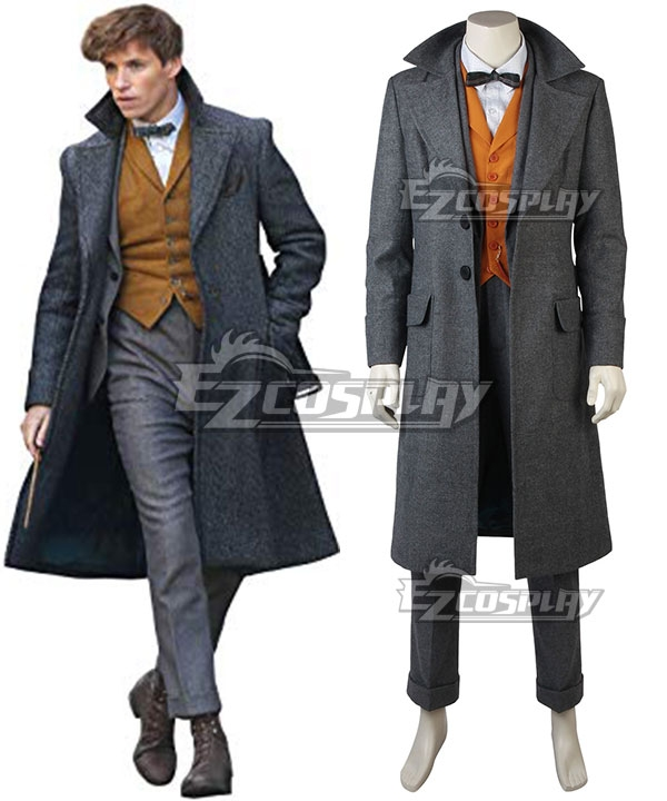 Men's Vintage Style Coats and Jackets Fantastic Beasts The Crimes of Grindelwald Newt Scamander Cosplay Costume $199.99 AT vintagedancer.com