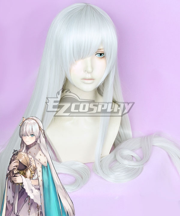 Fate Grand Order Anastasia Nikolaevna Romanova Silver Grey Cosplay Wig