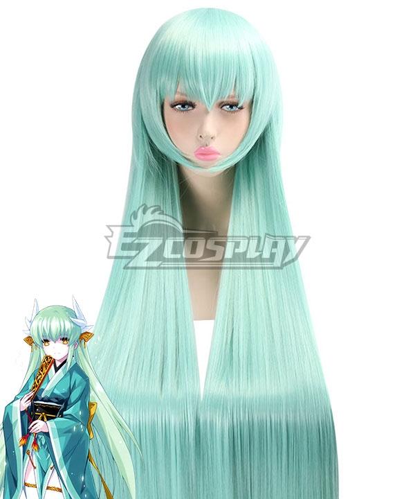 Fate Grand Order Berserker Lancer Kiyohime Blue Cosplay Wig
