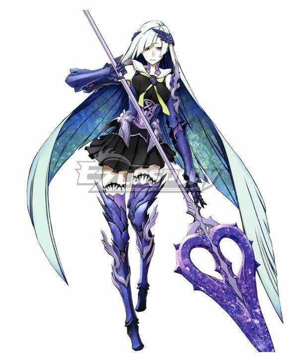 Fate grand Order Brynhildr Silver Cosplay Wig