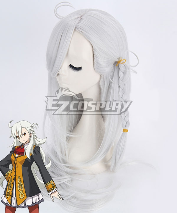 Fate Grand Order First Order Olgamally Animusphere Silver White Cosplay Wig