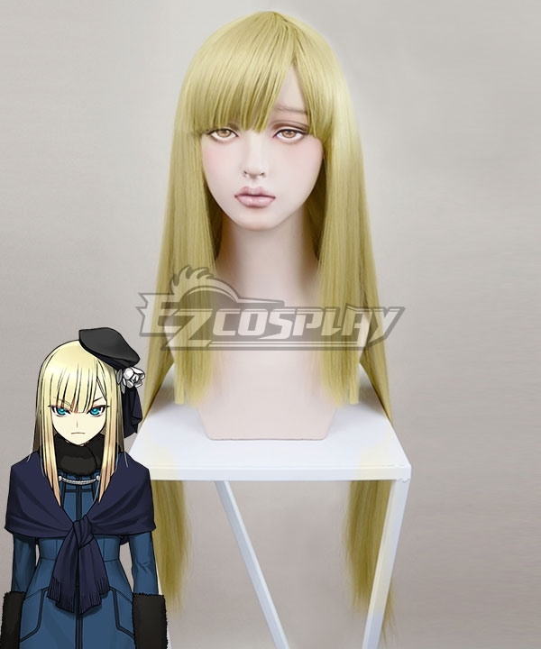 Fate Lord El-Melloi II Case Files Reines El-Melloi Archisorte Golden Yellow Cosplay Wig