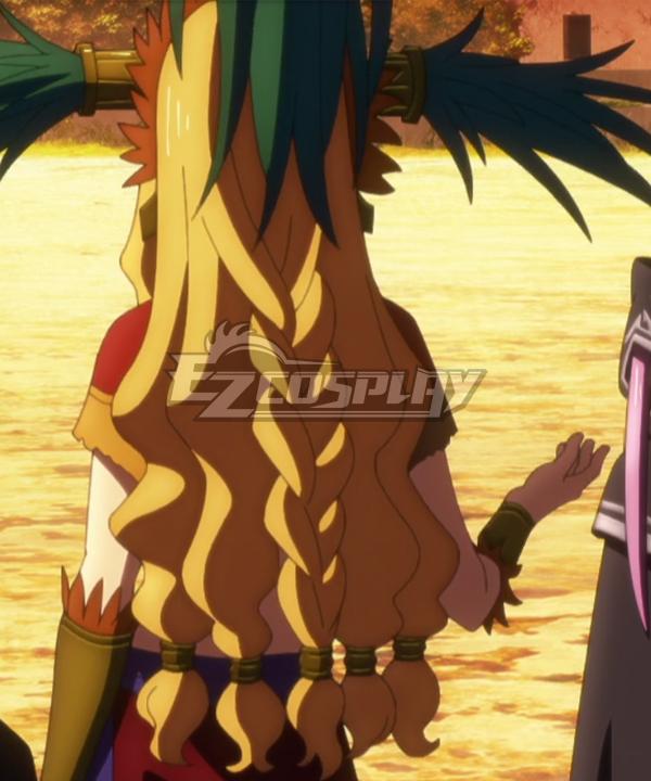 Fate/Grand Order - Absolute Demonic Front: Babylonia Quetzalcoatl Golden Cosplay Wig