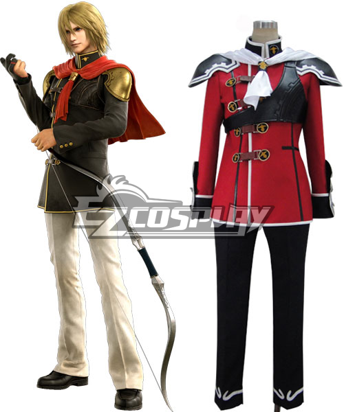Final Fantasy Type0 Trey Render Cosplay Costume