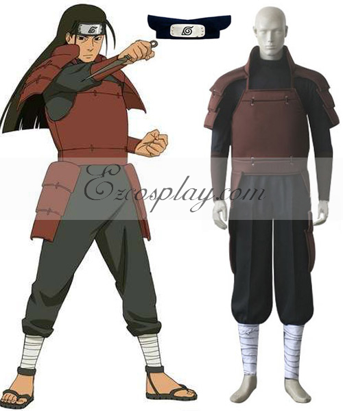 Naruto First Hokage Hashirama Senju Cosplay Costume
