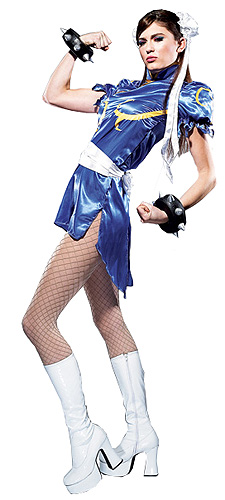 Street Fighter Chun Li Cosplay Costume