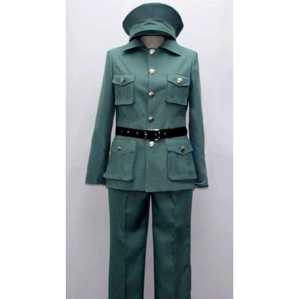 1940s Men's Costumes: WW2, Sailor, Zoot Suits, Gangsters, Detective Felix Poland Costume from Axis Powers Hetalia $97.99 AT vintagedancer.com