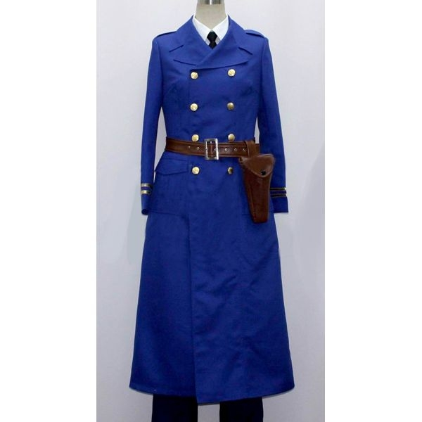 1940s Men's Costumes: WW2, Sailor, Zoot Suits, Gangsters, Detective Berwald Sweden Cosplay Costume from Axis Powers Hetalia $103.99 AT vintagedancer.com