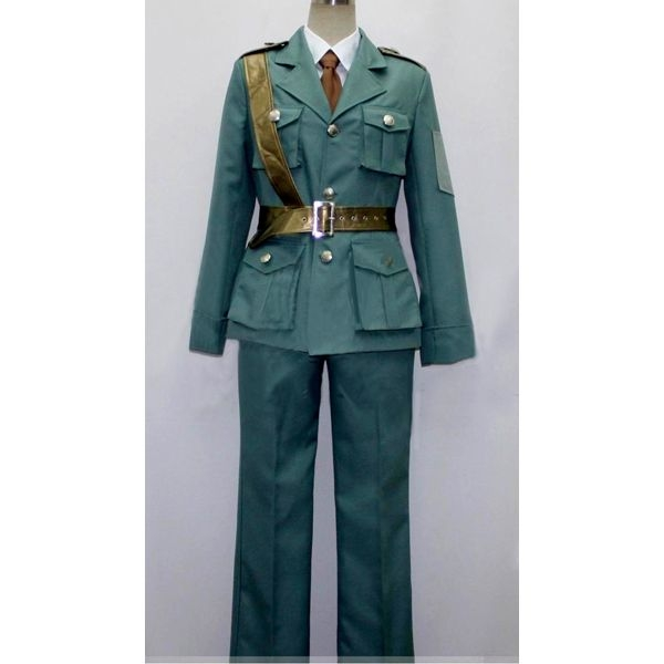 1940s Men's Costumes: WW2, Sailor, Zoot Suits, Gangsters, Detective Eduard Estonia Costume from Axis Powers Hetalia $90.99 AT vintagedancer.com