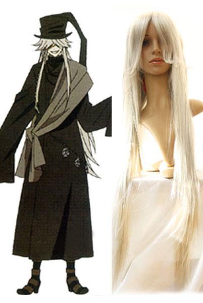 Black Butler Undertaker Cosplay Wig