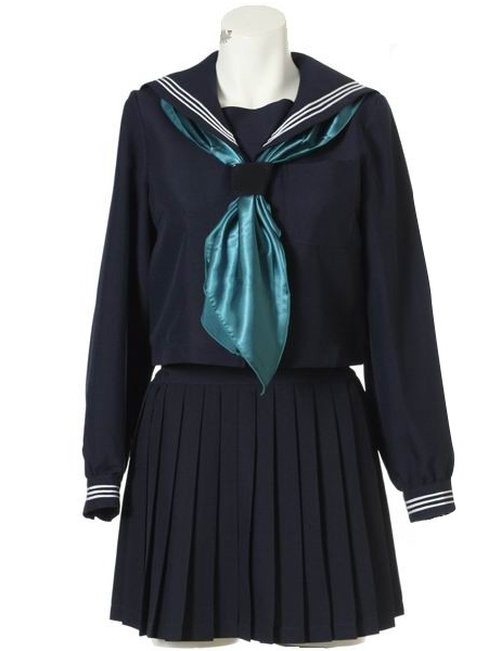 1920s Children Fashions: Girls, Boys, Baby Costumes Long Sleeves Sailor Uniform Cosplay Costume $67.99 AT vintagedancer.com