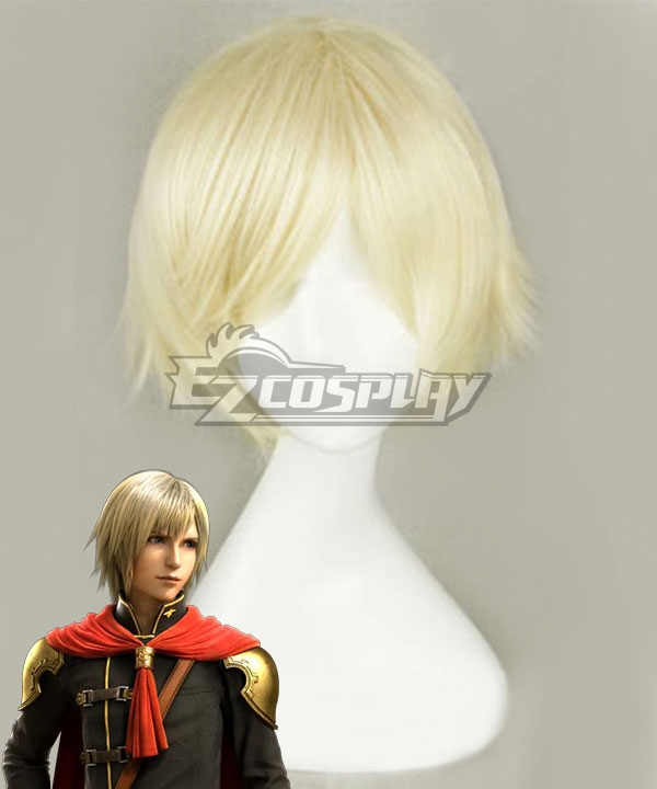 Final Fantasy Type-0 Ace Light Golden Cosplay Wig