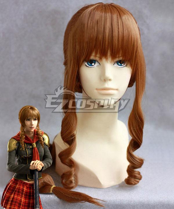 Final Fantasy type-0 Cinque Brown Cosplay Wig