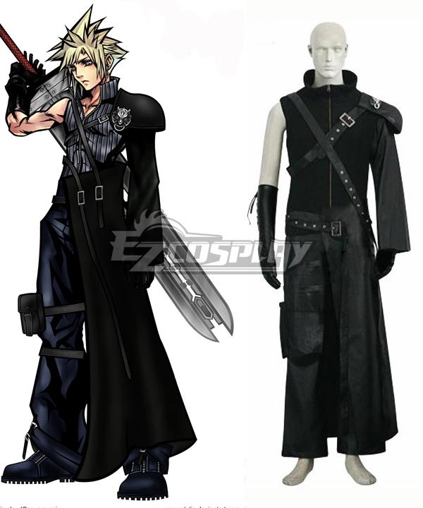 Final Fantasy VII: Advent Children FF7 Cloud Strife Cosplay Costume
