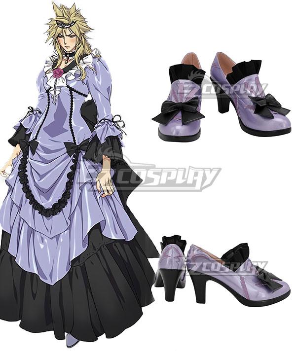 Fantasy | Purple | Cloud | Shoe | Girl