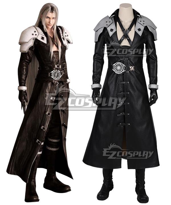 Final Fantasy VII Remake FF7 Sephiroth Cosplay Costume