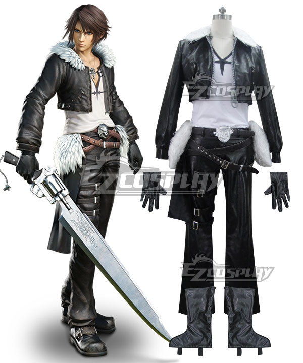 Final Fantasy VIII Squall  Leonhart Suk¨­ru reonh¨¡to Cosplay Costume