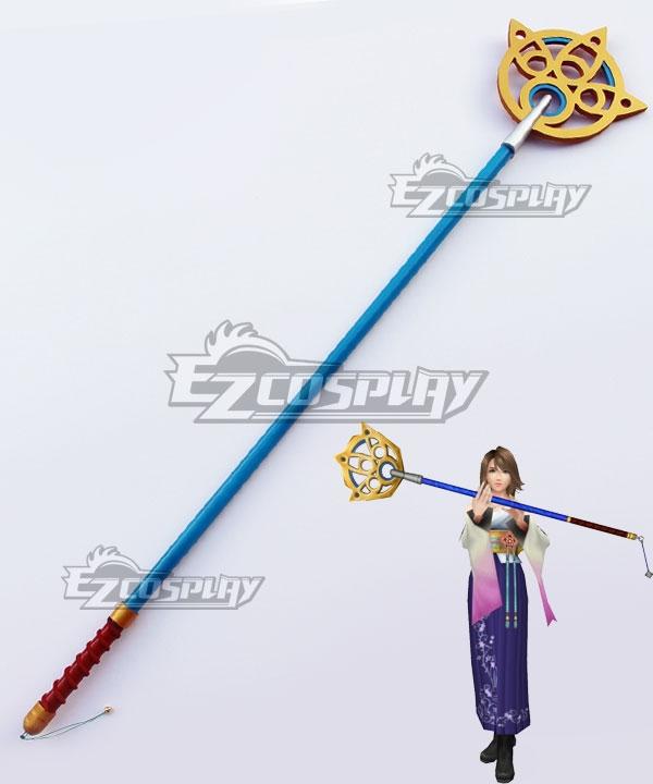 Final Fantasy X FF10 Yuna Staff Cosplay Weapon Prop