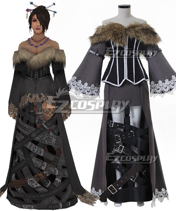 Final Fantasy X Lulu Cosplay Costume