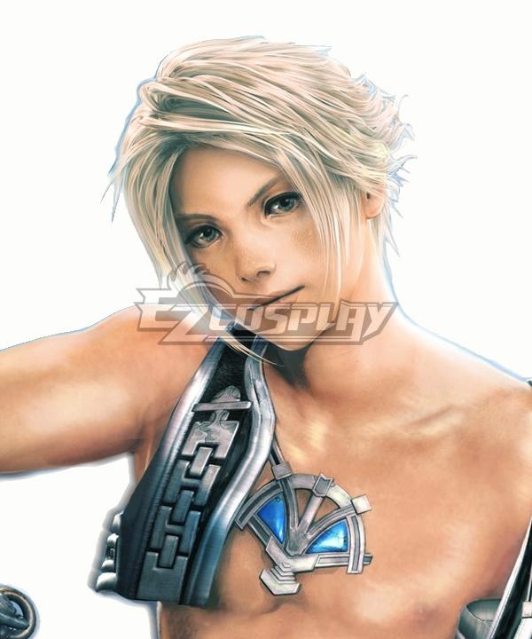 Final Fantasy XII  FF12 Vaan Silver Cosplay Wig