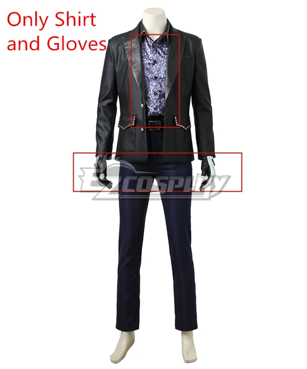 Final Fantasy XV FF15 Ignis Scientia Cosplay Costume - Only Shirt and Gloves